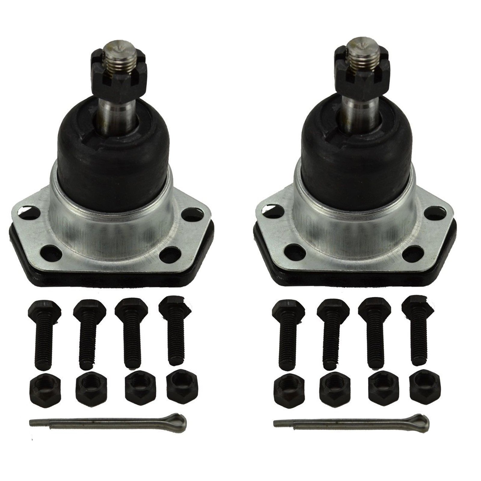 Detroit Axle - Both (2) Brand New Driver & Passenger Side Front Upper Ball Joint 10-Year Warranty