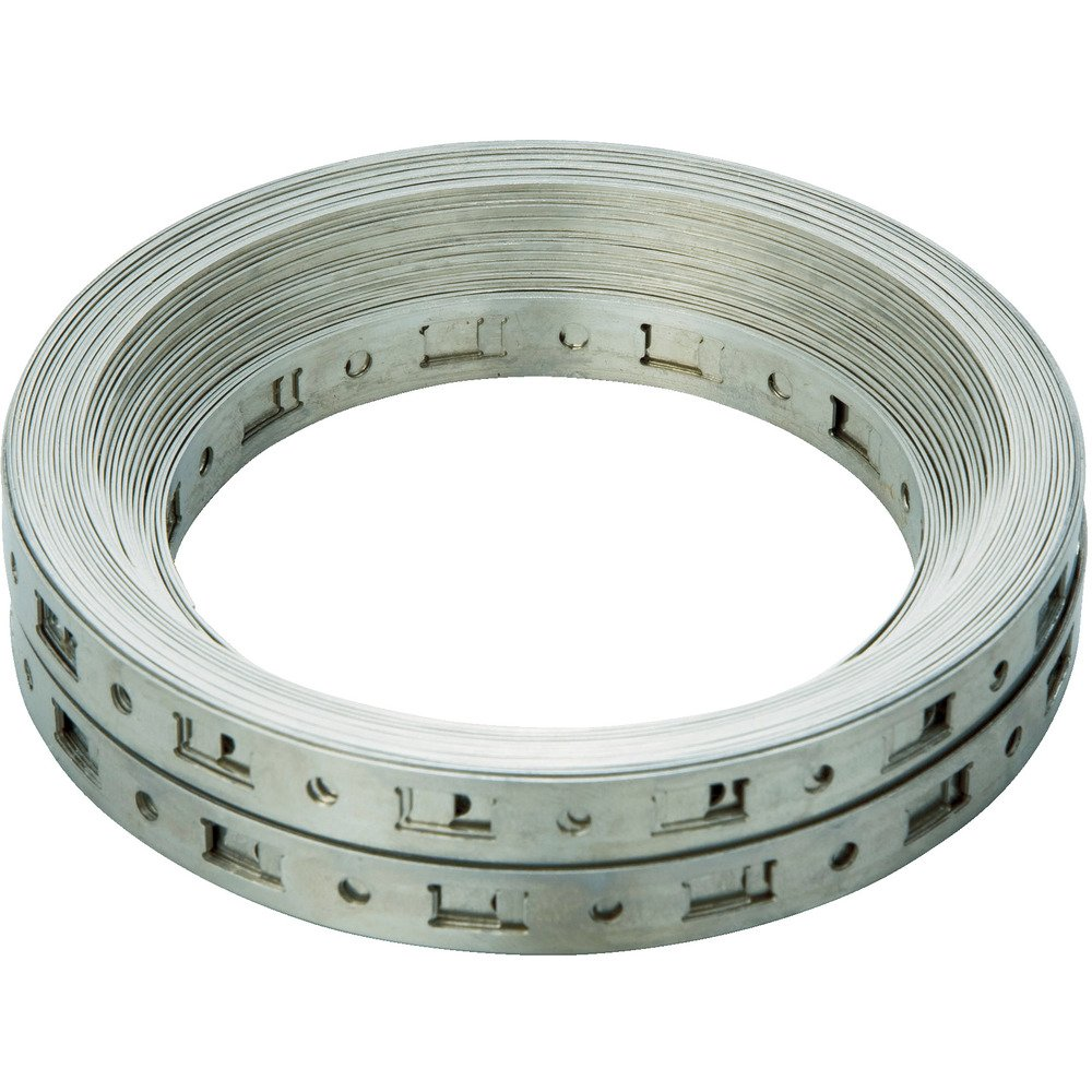 Breeze Make-A-Clamp Stainless Steel Hose Clamp System, 1 Kit Contains: 100 ft Band, 10 Band splices (Pack of 1)