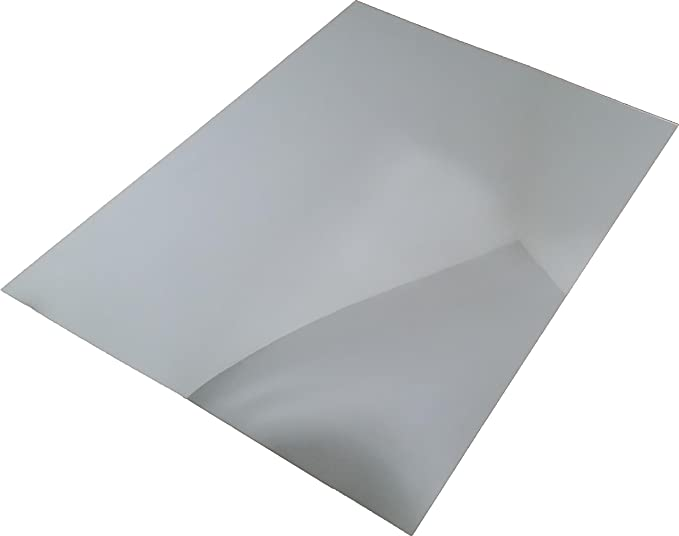 Acrylic Silver Mirror 305mm x 250mm x 3mm thickness x 9 panels