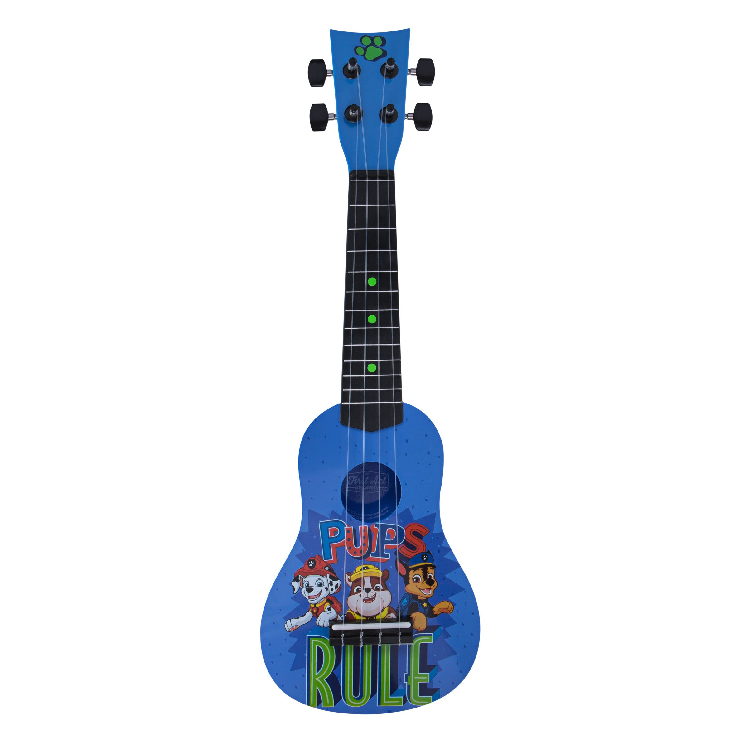 First Act Discovery Paw Patrol Ukulele PP285 by First Act