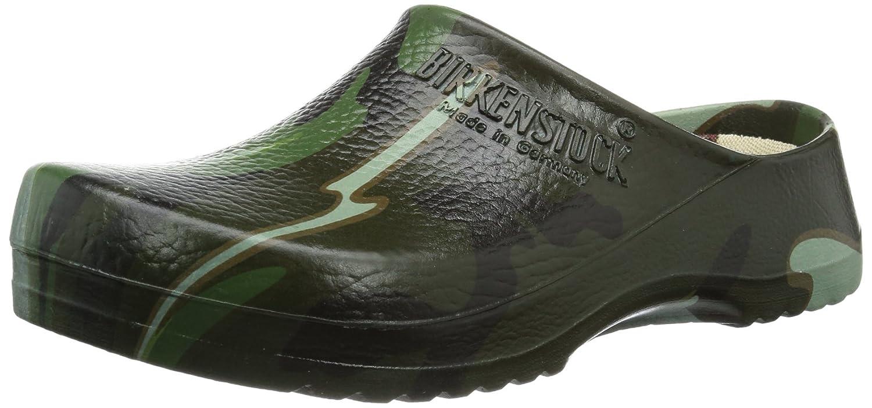 Lsyshi5CWR Professional Super Birki, Unisex-Erwachsene Clogs, Mehrfarbig (green Camouflage), 37 Eu