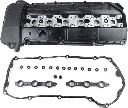 11121432928 Motorventildeckel Zylinderkopfhaube Und Dichtung Für E46 E39 E53 323i 325i 330 328i Z3 Z4 X5 11121748630 Auto