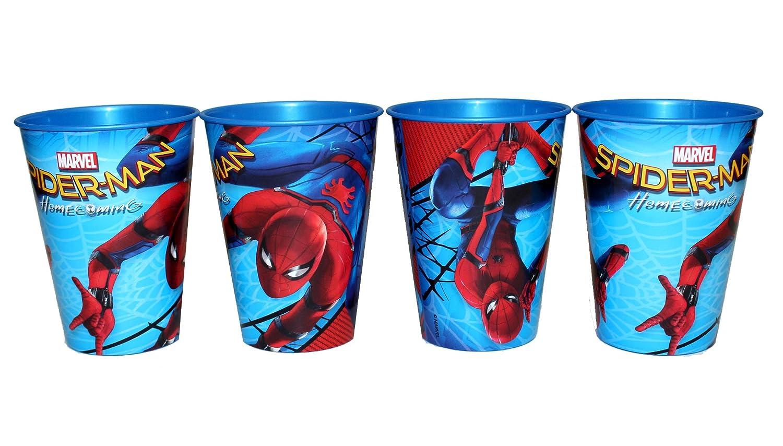 Lot de 4/mug Marvel Spiderman Home Coming Gobelet jus Tasse Set