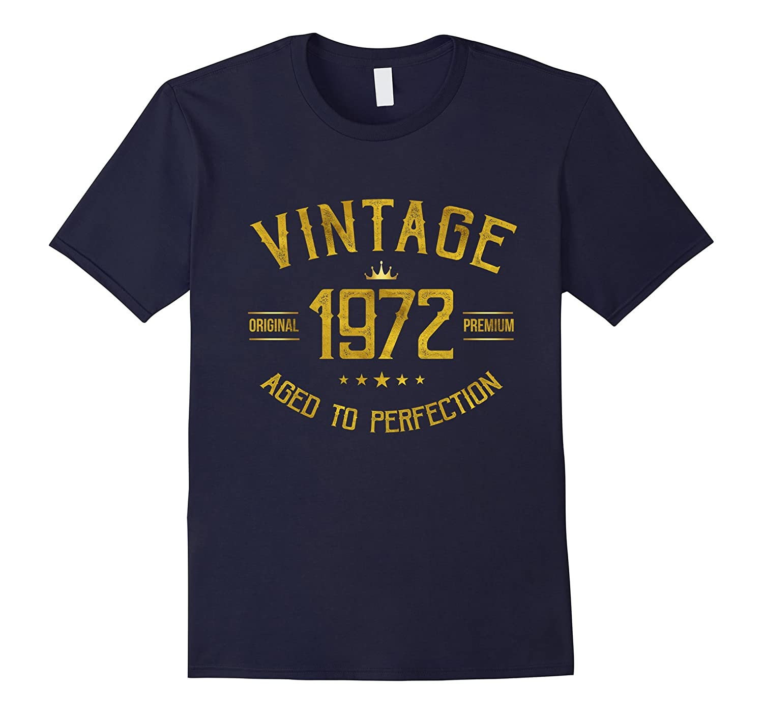 Vintage 1972 T-Shirt 45 years old B-day 45th Birthday Gift-Vaci