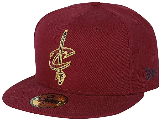 online store 24894 46a79 New Era 59Fifty Chain Stitch NBA Cleveland Cavaliers Cap red 7