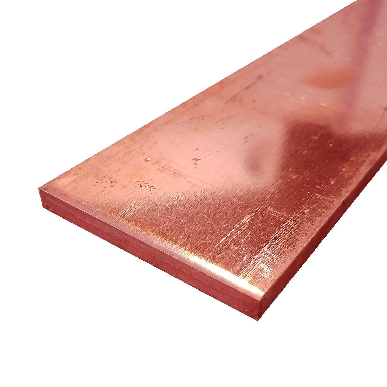1//4 x 3 x 11 Online Metal Supply C110 Copper Flat Bar