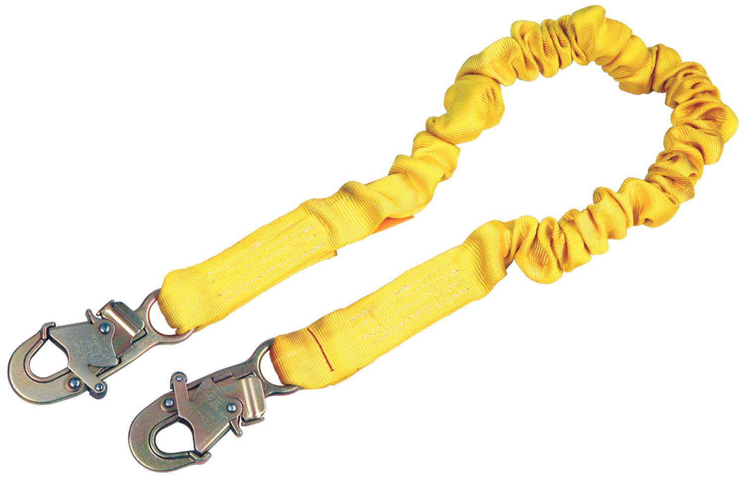 3M DBI-SALA Shockwave 2, 1244306 6' Shock Absorbing Lanyard, Tubular Web, Snap Hook At Ends, Yellow by 3M Personal Protective Equipment
