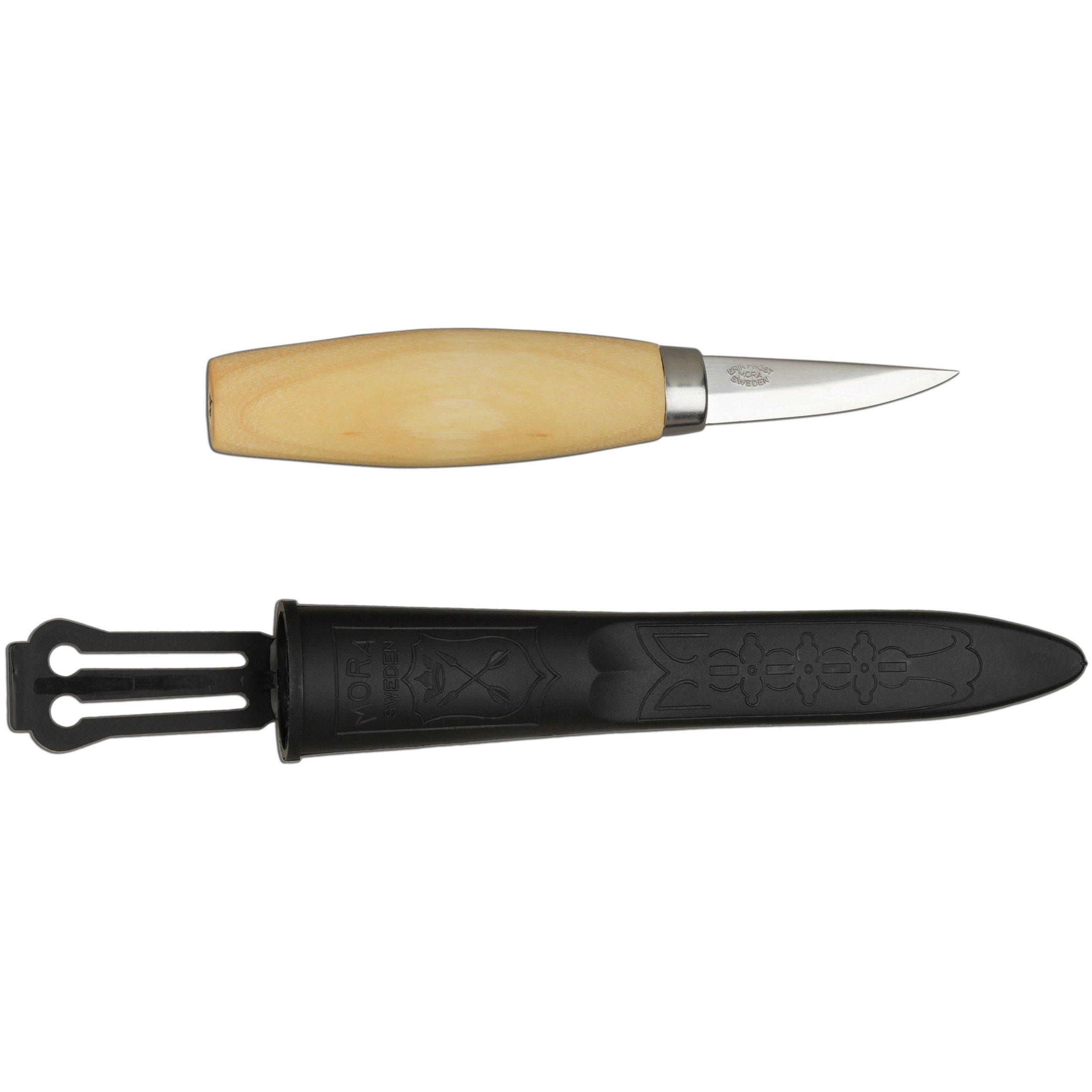 Morakniv Wood Carving 120 Knife with Laminated Steel Blade, 2.4-Inch by Morakniv