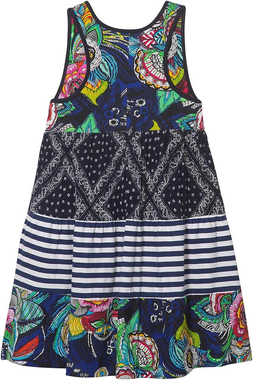 Vestido para Ni/ñas Vest/_Maseru Desigual Girl Knit Dress Straps