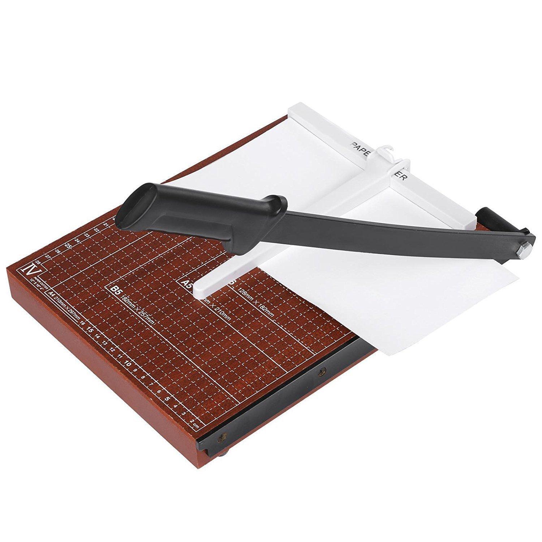 Evokem Tissue Paper Trimmer/Cutter,A4, B5, A5, B6, B7 Paper Cutter Guillotine,Wood Board