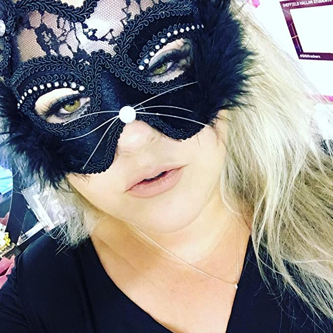 2017 Hot New Sexy Lace Cat Mask Makeup Ball Cosplay Fox Face Masks Christmas Decorative Party Mask Fancy Dress Leather Mask Toy Durable Service Event & Party