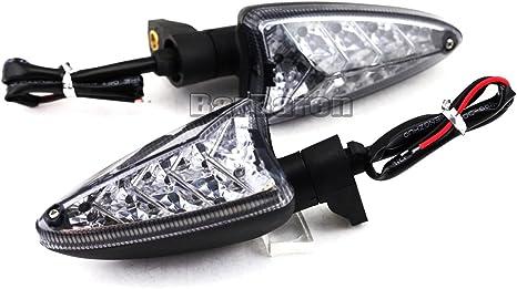 Frecce LED indicatore di direzione lampeggiante luce indicatore di direzione Indicatore per Triumph Tiger 800/Tiger 800/XC Tiger 1050