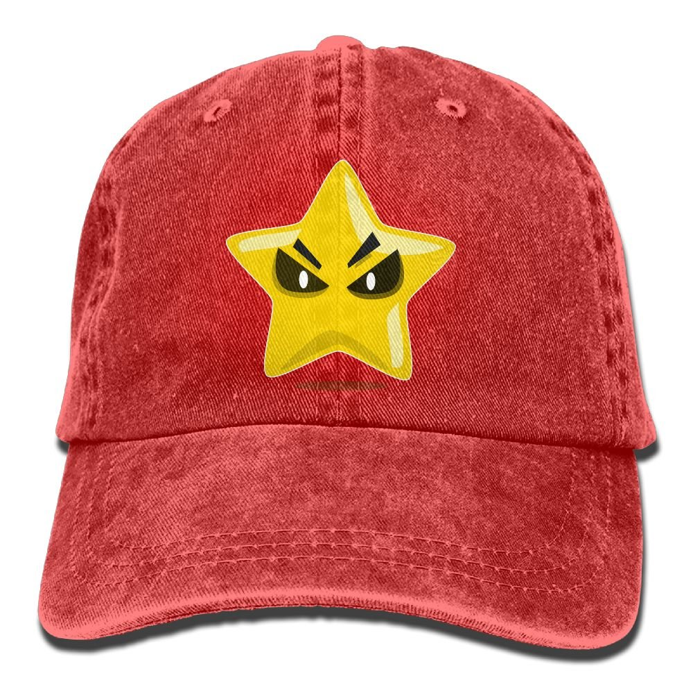 GqutiyulU Cute Evil Star Adult Cowboy Hat Red