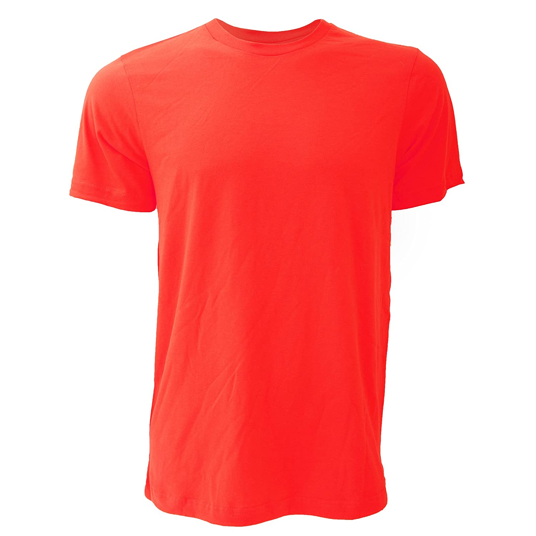Canvas Unisex Jersey Crew Neck T-Shirt//Mens Short Sleeve T-Shirt