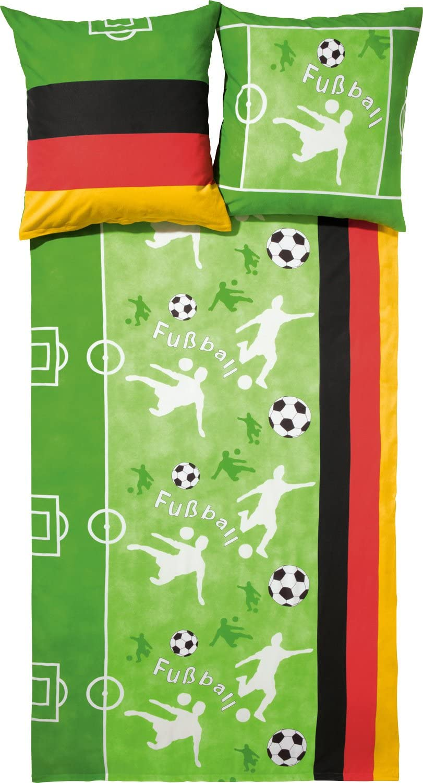Ido Franela Fina 2 Piezas. Verde de fútbol 47590 – 609 Infantil Juvenil Ropa de Cama 80 x 80 cm/135 x 200 cm: Amazon.es: Hogar