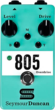 Seymour Duncan 805 Overdrive Guitar Effects Pedal FREE WORLDWIDE SHIPPING
