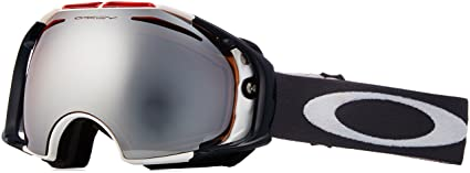 64cdaae485 Oakley Team USA Airbrake Adult Special Editions Signature Series Winter  Sport Snowmobile Goggles Eyewear - Black