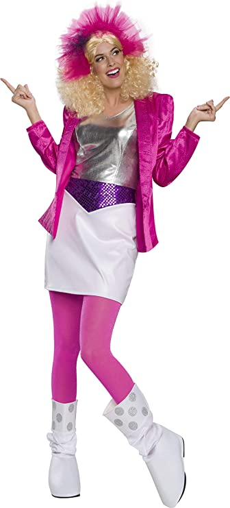 80s Costumes, Outfit Ideas- Girls and Guys Rubies Womens Deluxe Rocker Barbie Costume $12.27 AT vintagedancer.com