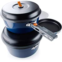 GSI Outdoors, Bugaboo Base Camper, Nesting Cook Set, Superior Backcountry Cookware Since 1985