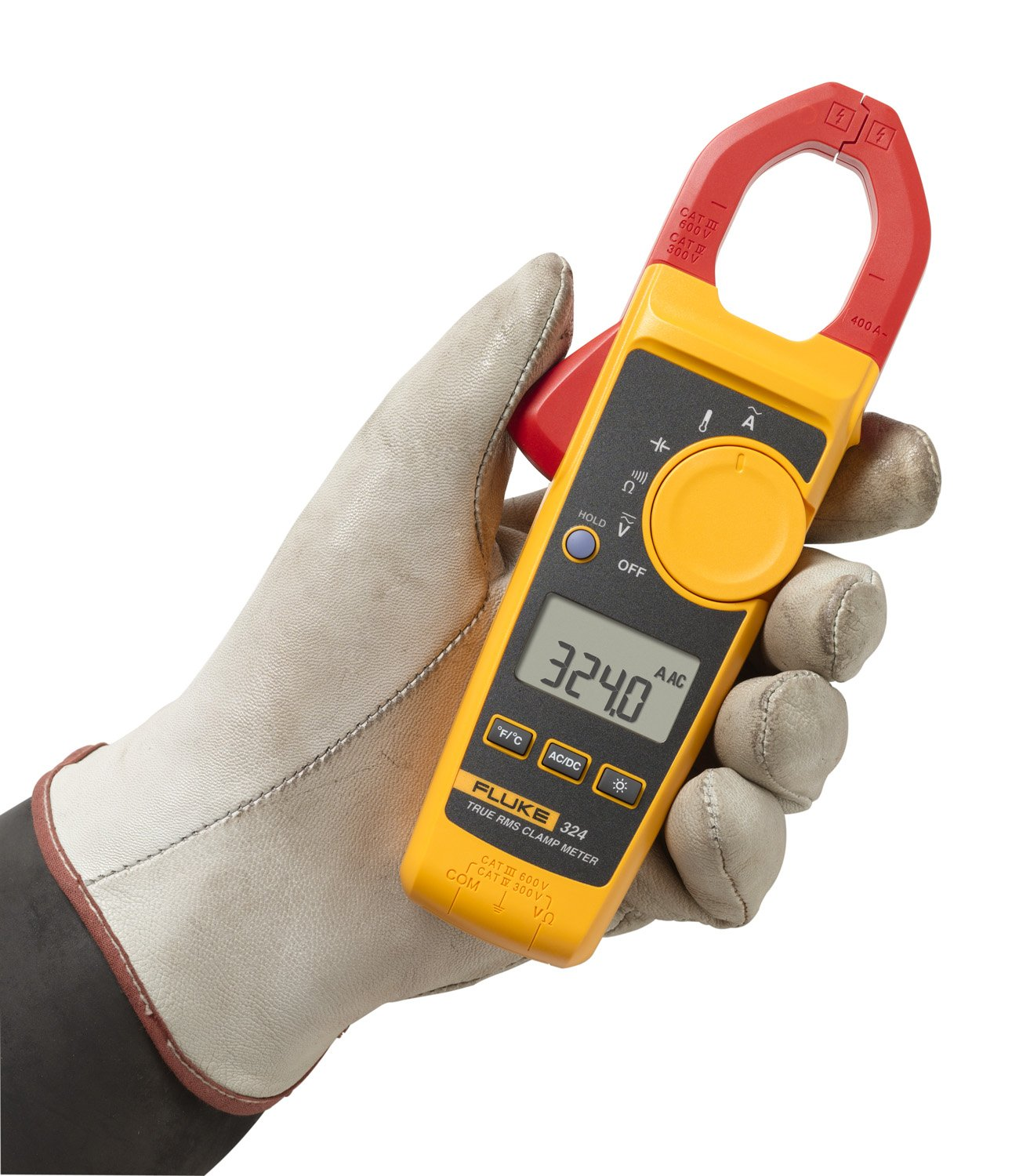 Fluke Capacitor Meter : Galleon fluke  a ac v dc true rms clamp