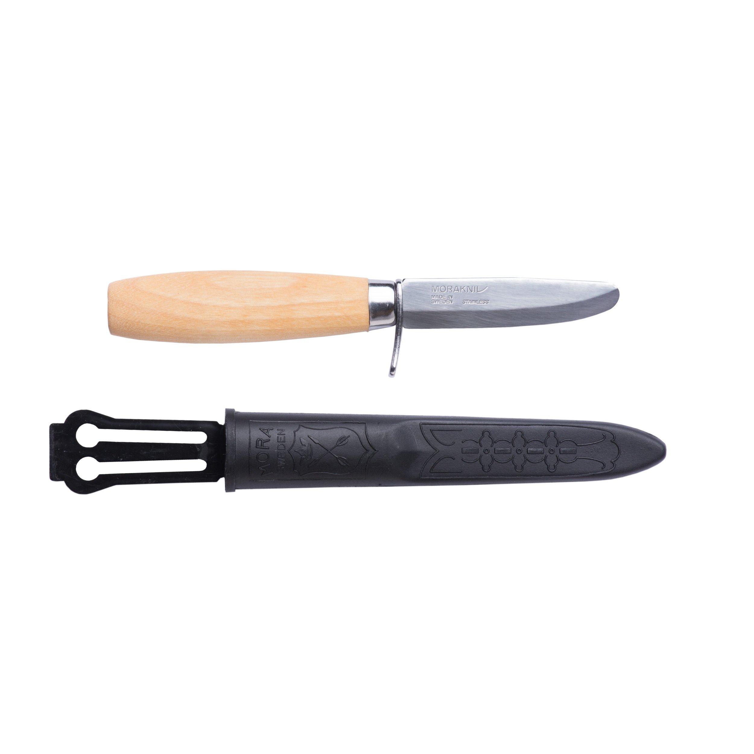 Morakniv Rookie Fixed Blade Safe Knife for Kids with Blunt Tip