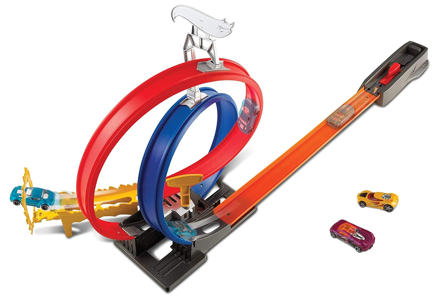 Hot Wheels FKV69 Mattel Energy Track.. Die Blue