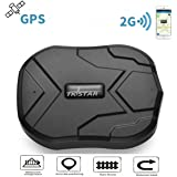TKSTAR TK905 GPS Tracker with Strong Magnet for Car/Vehicle/Van Truck Fleet Management GPS Locator Realtime Accurate Location Device Waterproof 90 Days Long Standby Remove Alarm Free Tracking Platform