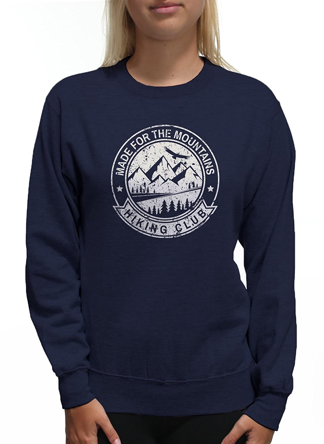 Young Motto Women's MADE FOR THE MOUNTAINS HIKING CLUB Sweatshirt 1104217-WSW