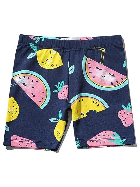 M/&Co Girls Fruit Cycling Shorts