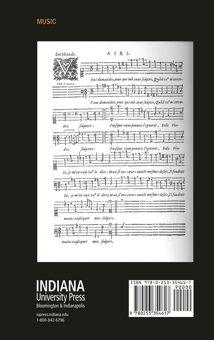 Music and the Language of Love: Seventeenth-Century French Airs (Music and the Early Modern Imagination)