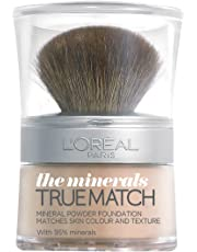 L'OREAL PARIS L'Oréal Paris True Match Minerals Foundation W1 Golden Ivory, 10g