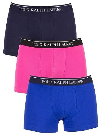 Polo Ralph Lauren de los Hombres Pack de 3 Calzoncillos con Logo ...