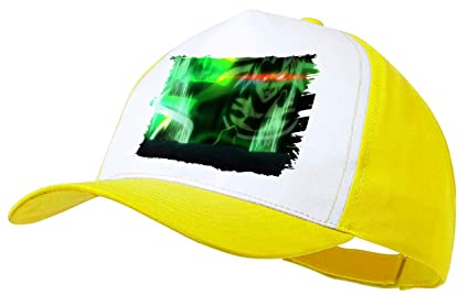 MERCHANDMANIA Gorra Amarilla Dragon Ball Super Broly FURIOSO Color Cap
