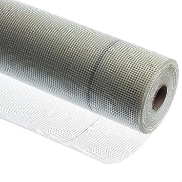 Putzgewebe Glasfasergewebe Armierungsgwebe WDVS Systeme Glasgittergewebe 4x4mm 50m Rolle