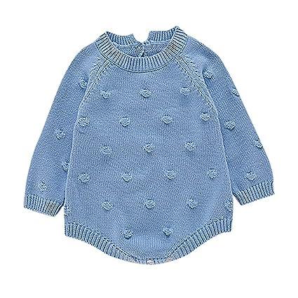 Chandal Niña Bebes Recien Nacidos Bebé Recién Nacido Baby Boy Girl Knit Romper Body Crochet Ropa