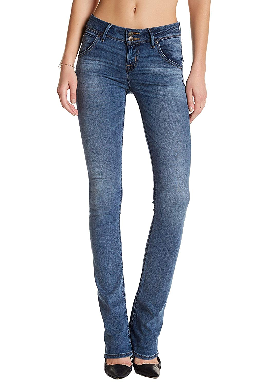efb665fbfbb Hudson Jeans Beth Baby Bootcut Jeans, Undercontrol, 24 at Amazon Women's  Jeans store