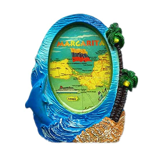 Hqiyaols Souvenir Marco del Mapa Isla Margarita Venezuela España ...