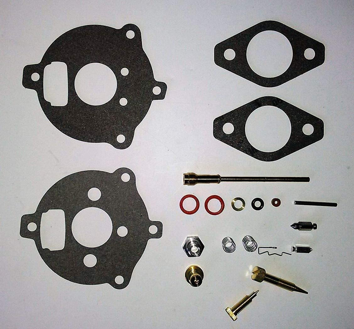 Carburetor Carb Repair Rebuild Kit fits Briggs and Stratton 7HP to 9 HP Aftermarket Kit Replaces 394693 291763 295938 398235 1416R