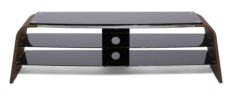 Alphason Spectrum TV Stand Real Wood Veneer (1200MM, Walnut)