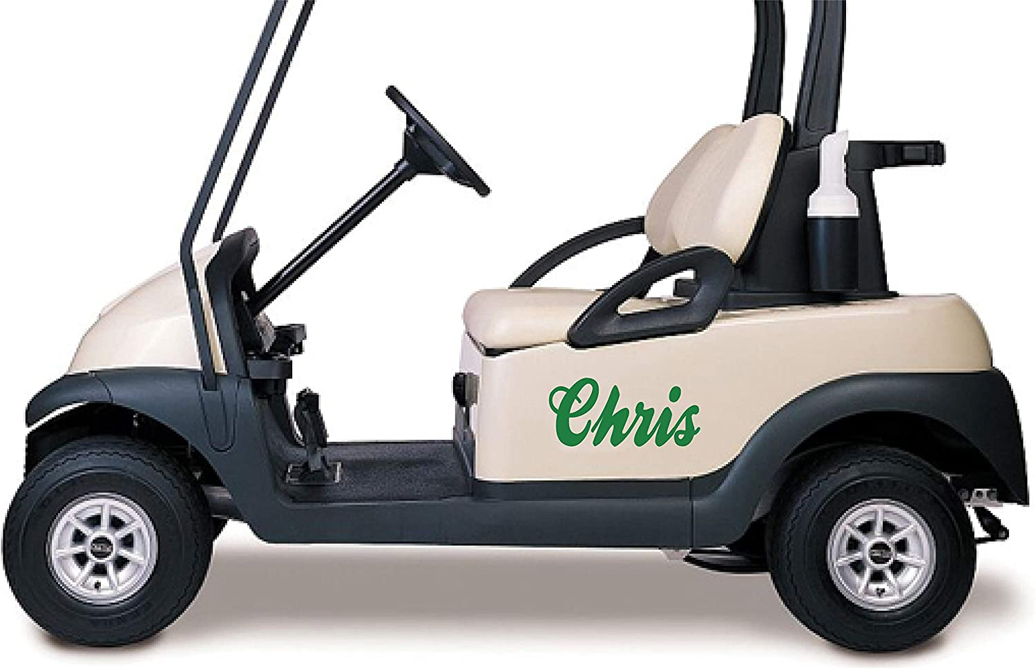 Amazon Com Personalized Your Name Golf Cart Go Kart Decals Stickers Auto Truck Racing Graphics Kitchen Dining