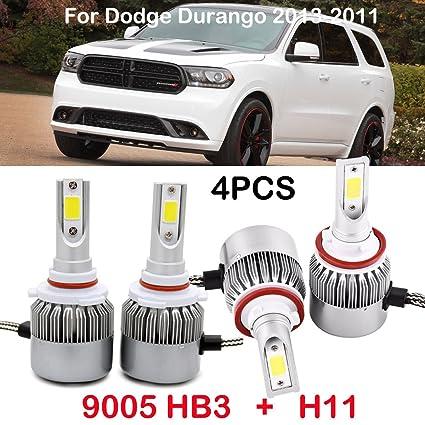 2014 dodge durango led headlight bulb