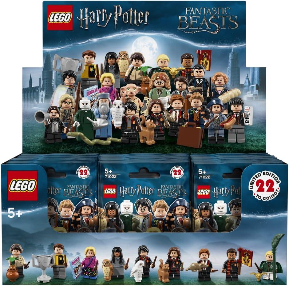LEGO 6213829 Harry Potter Fantastic Beasts Minifigure Series 71022 Box of 60
