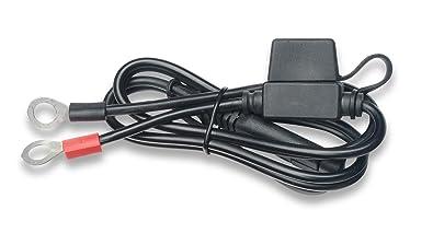 amazon com battery tender 081 0069 6 ring terminal harness battery tender 081 0069 6 ring terminal harness black fused 2 pin
