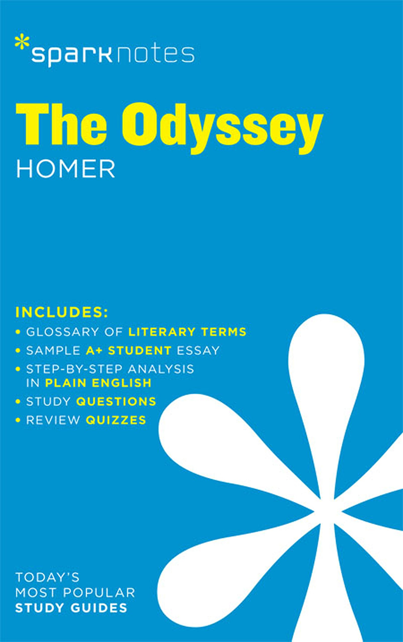 The Odyssey SparkNotes Literature Guide  SparkNotes Literature Guide Series   English Edition