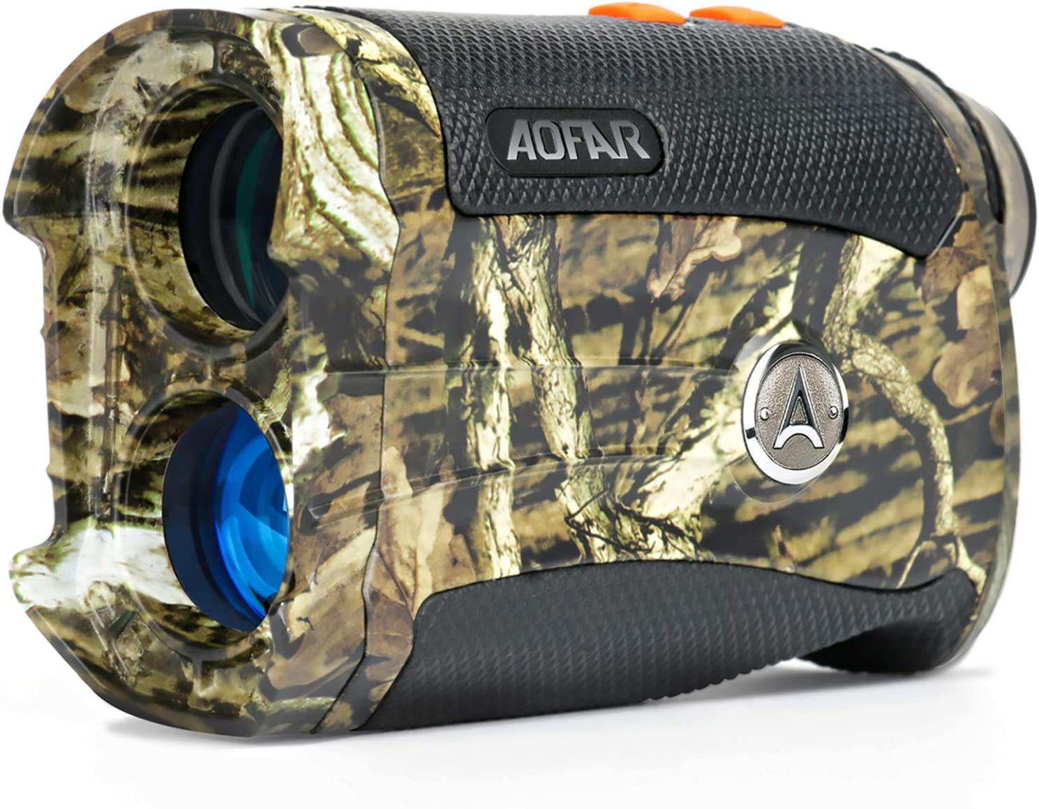AOFAR Range Finder for Hunting Archery H2 600 Yards Shooting Wild Waterproof Coma Rangefinder with Angle and Horizontal Distance, 6X 25mm, Range and Bow Mode, Free Battery Gift Package