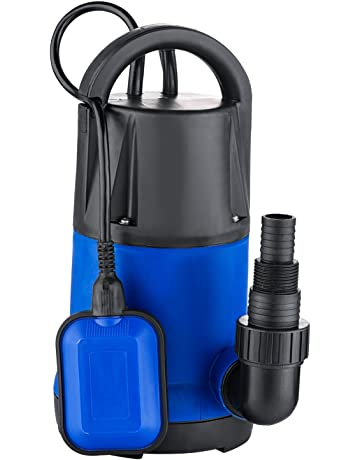Luckdeal 1.5 HP Stainless Steel Submersible Sump Pump Dirty Clean Water Pump w/ 15ft Cable