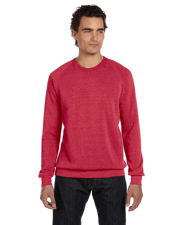 Alternative Unisex Long Sleeve Basic Crew Fleece
