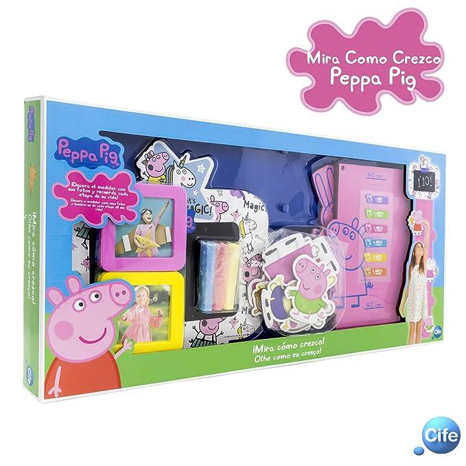 Peppa Pig Mira Cómo Crezco Cife Spain 41385: Amazon.es: Juguetes y juegos