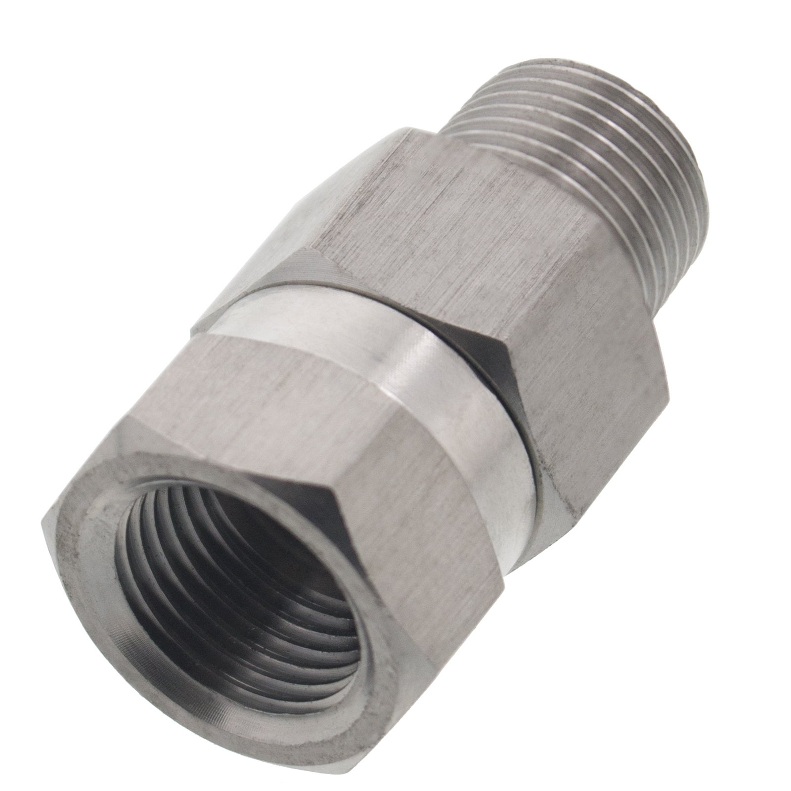 Erie Tools Pressure Washer 3/8'' Male Female NPT Stainless Steel Swivel Coupler 3200 PSI by Erie Tools