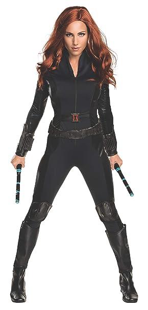 Amazon.com: Disfraz de viuda negra de la Guerra Civil de ...